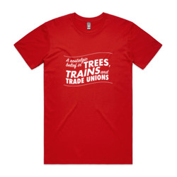 Trees, Trains & Trade Unions: regular fit