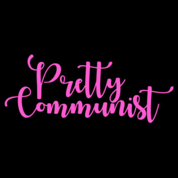 Pretty Communist: Bogan unisex singlet Design