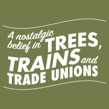 Trees, Trains & Trade Unions: curvy fit Design