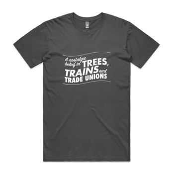 Trees, Trains & Trade Unions: regular fit Thumbnail