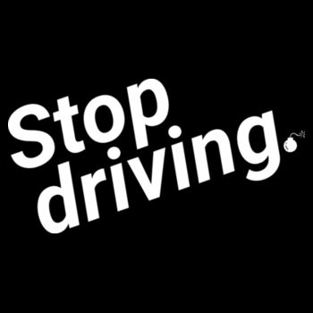Stop driving: Shoulder tote Design