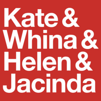 Kate & Whina & Helen & Jacinda: fitted Design