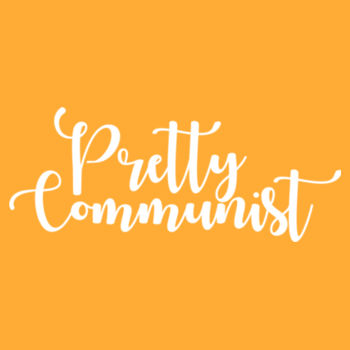 Pretty Communist: regular fit Design