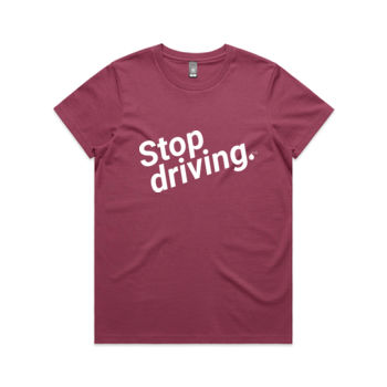 Stop driving: Straight fit Thumbnail